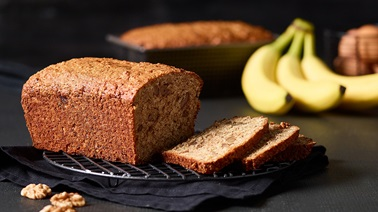 Banana, nut & squash bread