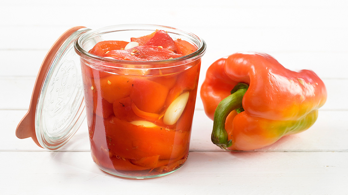 Marinated Grilled Bell Peppers