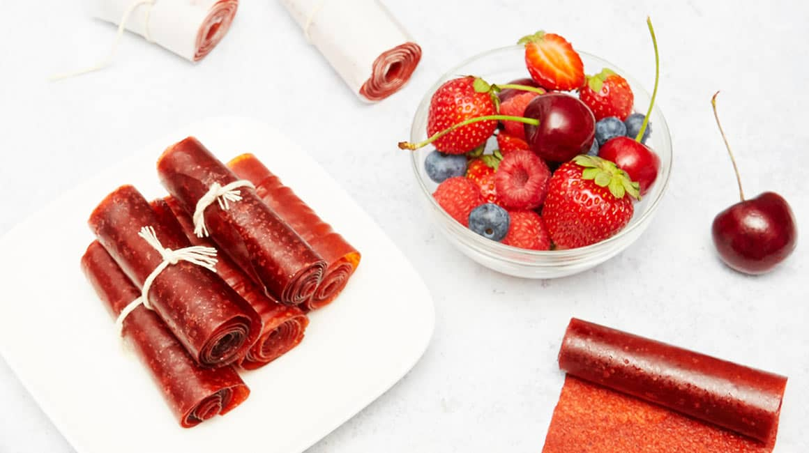Oven-Baked Fruit Roll-Ups