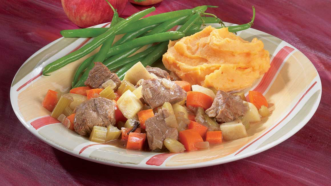 Veal and apple stew
