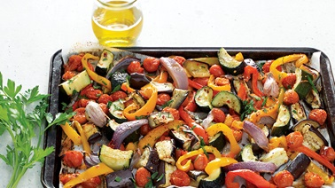 Roasted ratatouille from Josée di Stasio