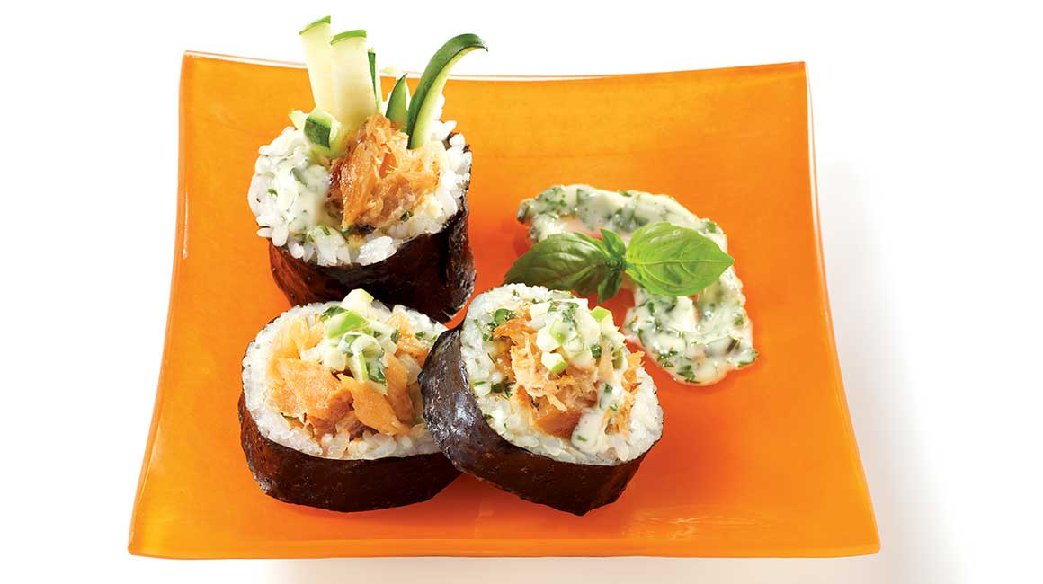 Sushi rice from Geneviève Everell