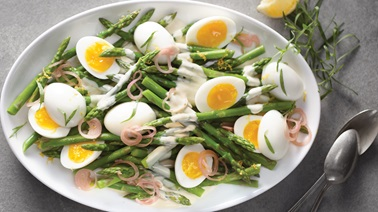 Asparagus Salad with Tarragon Dressing