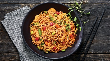 Asian Ground Pork Stir-Fry