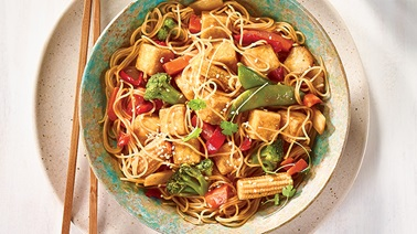 Tofu Stir-Fry with Sour Orange Sauce