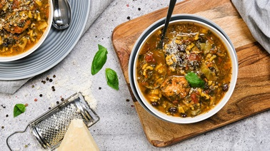 Cajou Cuisine Fall Meatball Soup