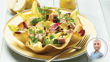 Ham and endive salad from Stefano Faita