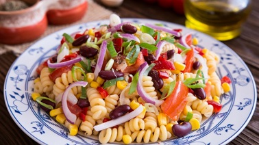 Pasta Salad with Black Beans