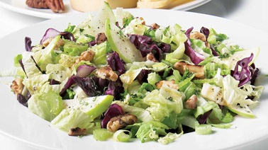 Chinese Lettuce and Apple Salad