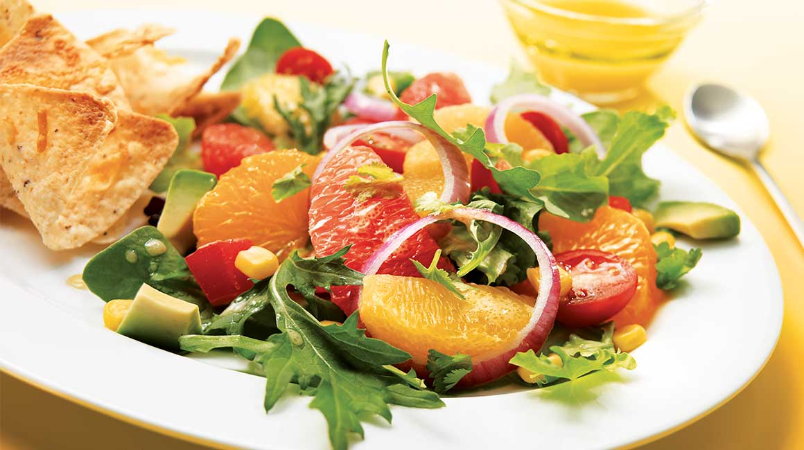 Salade mexicaine aux agrumes