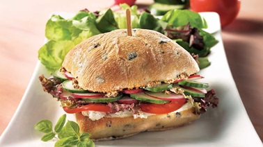 Country-Style Garden Vegetable Sandwiches
