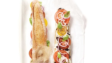 Summer sandwich for sharing