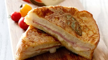 The Jarlsberg Monte Cristo sandwich