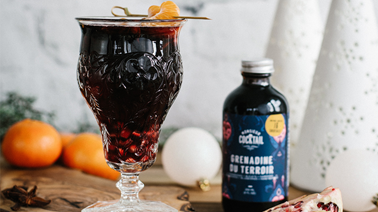 New Year's Eve Sangria by Monsieur Cocktail