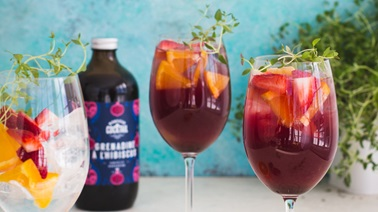 Sangria rouge sans alcool de Monsieur Cocktail