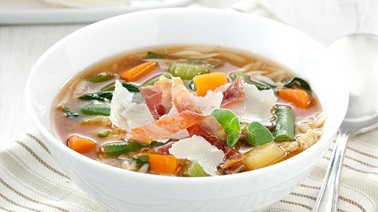 Italian-style garden vegetable soup