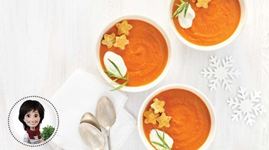 Tomato and fennel soup from Josée di Stasio
