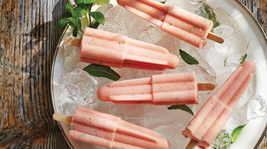 Watermelon-mint ice pops