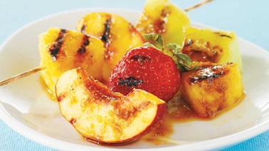Grilled Fruit Medley