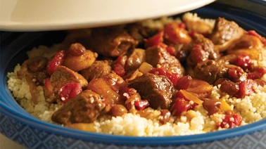 Lamb and Dried Fruit Tajine