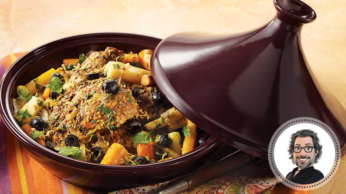 Lamb tajine with olives from Christian Bégin