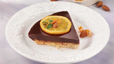 Orange Chocolate Pie