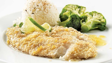 Sesame-Ginger Tilapia Fillets