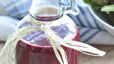 Blue Honeyberry and Spice Summer Vinaigrette