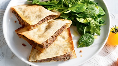 Spiced Beef Pitas from Ricardo