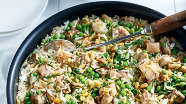 Vermicelli Rice with Chicken and Peas by Ricardo