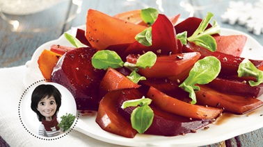 Pickled beet salad from Josée di Stasio