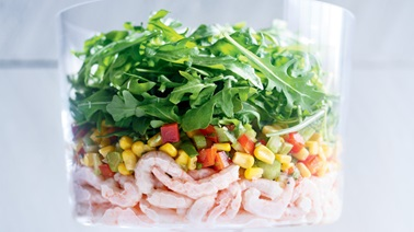 Nordic Shrimp and Corn Salad from Ricardo
