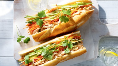 Vietnamese Chicken Sandwich from Ricardo