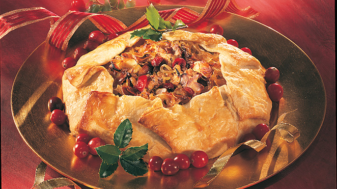 Country-Style Chicken Pie with Onions