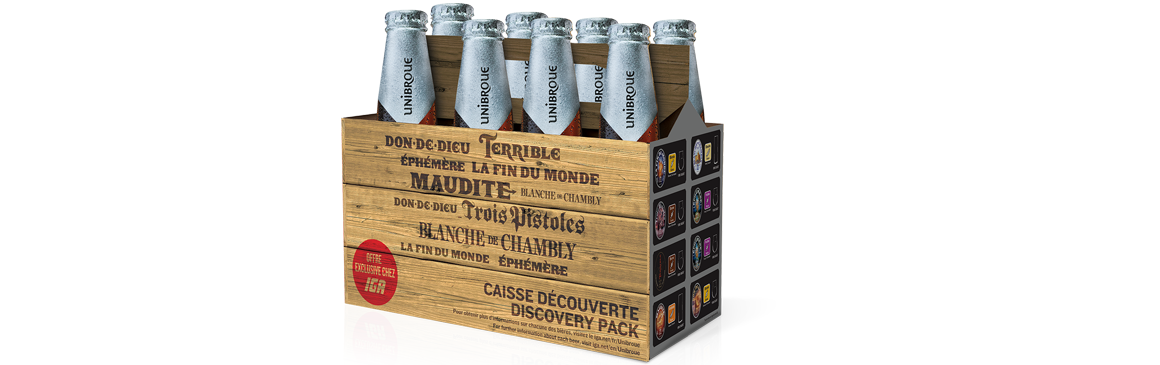 Unibroue Discovery pack