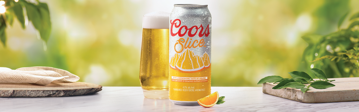 Introducing NEW Coors Slice
