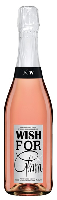 Wish for Glam sparkling rosé