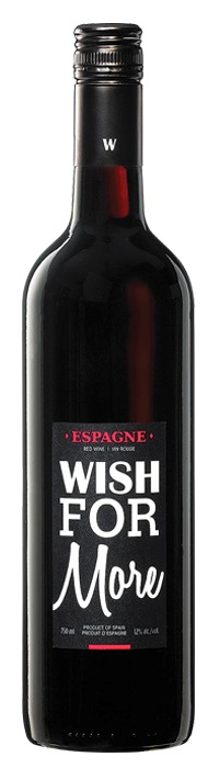 Vin rouge Wish for more