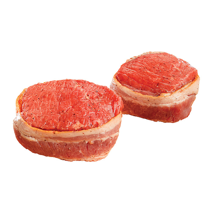 BACON-WRAPPED MEDALLIONS