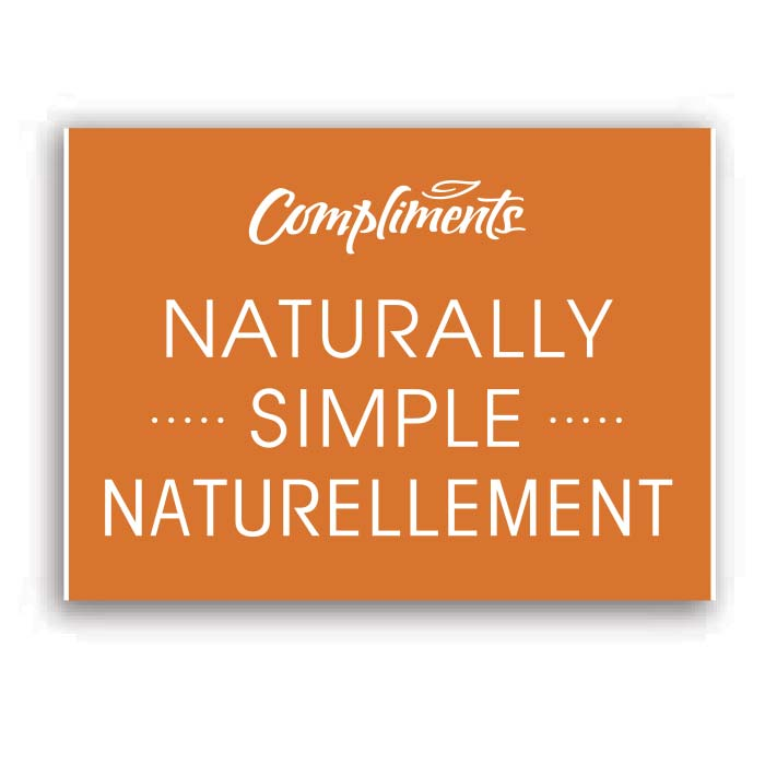 Compliments naturally simple logo