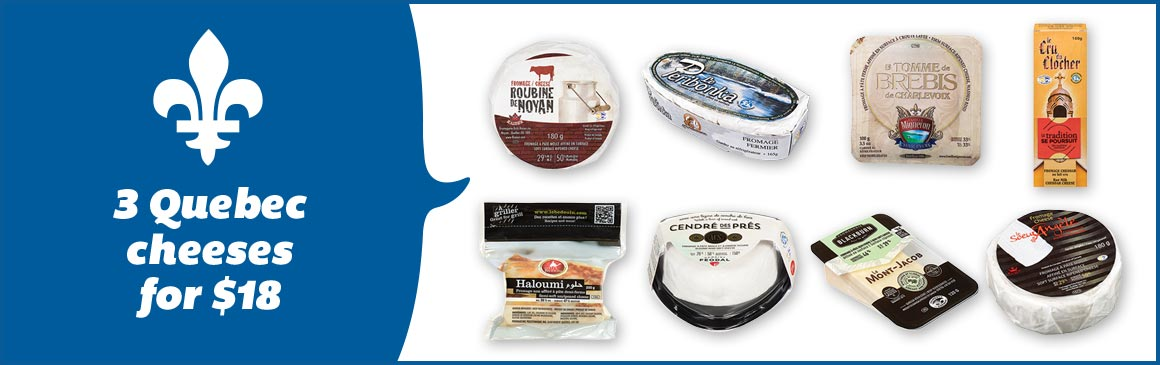 3 CHEESES FOR $18