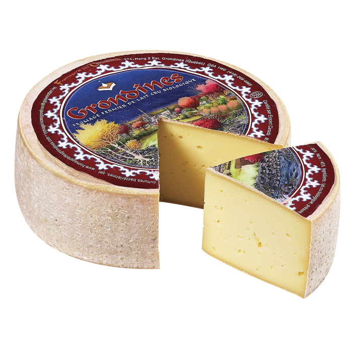 Fromage pâte ferme Grondines
