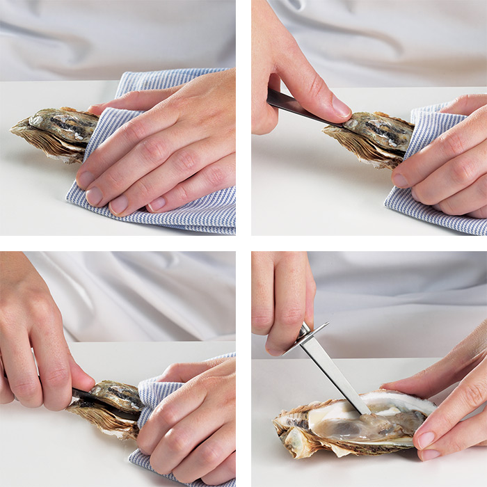 Shucking: the right technique and tools