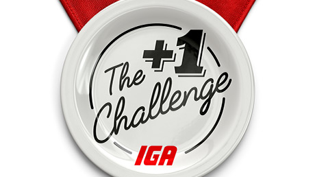 IGA launches the + 1 Challenge  encouraging Quebecers to cook one more meal each week