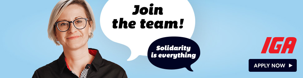 Join the team! Solidarity is everything Apply Now