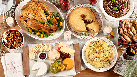 The uncomplicated holiday menu by Geneviève O'Gleman