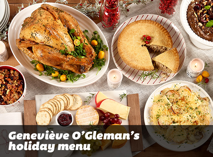 The uncomplicated holiday menu