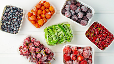 Our tips for cooking with frozen foods